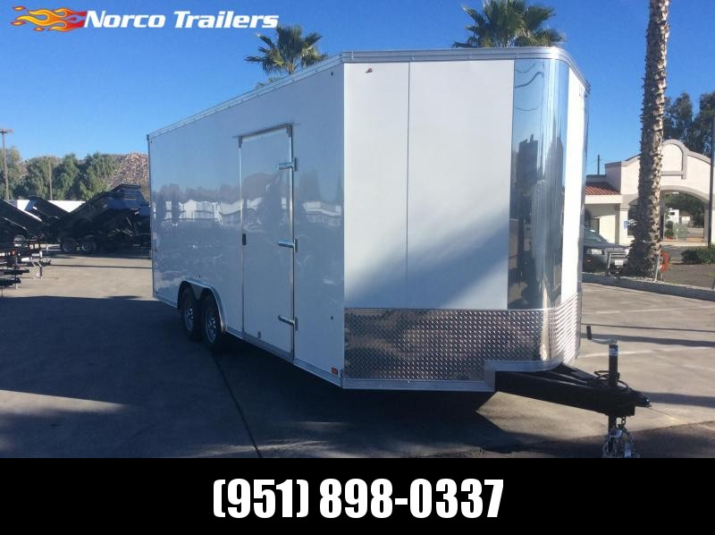 2019 Look Vision 8.5 X 20 Tandem Axle Enclosed Car / Racing Trailer