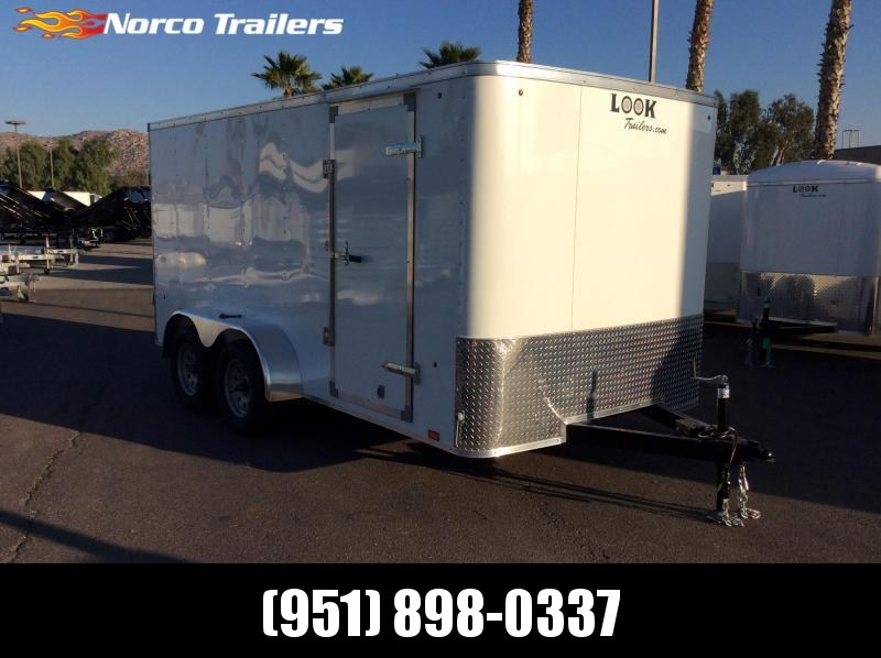 2019 Look Trailers STLC 7' x 14' Tandem Axle Enclosed Cargo Trailer