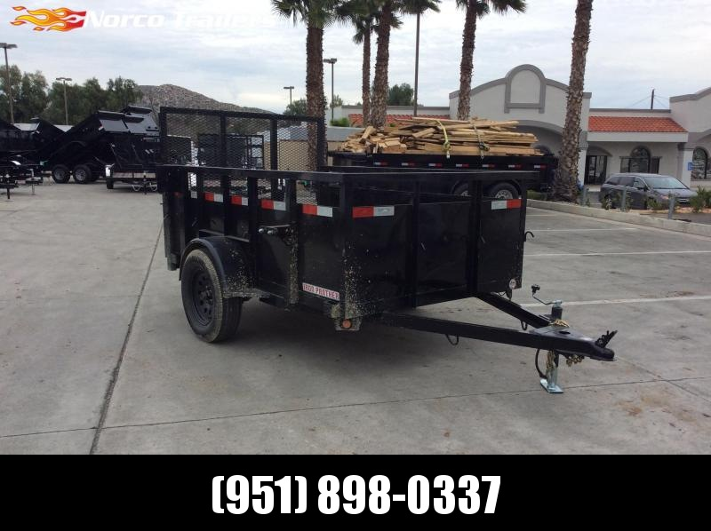 2017 Iron Panther 5' X 8' Single Axle Utility Trailer