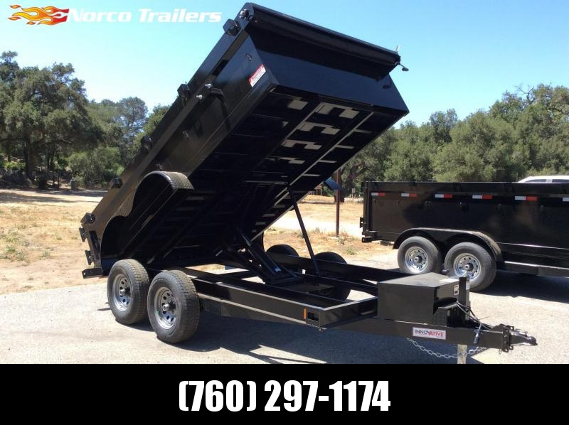 "2019 Innovative Trailer Mfg. 83"" x 12' 10K Dump Trailer"