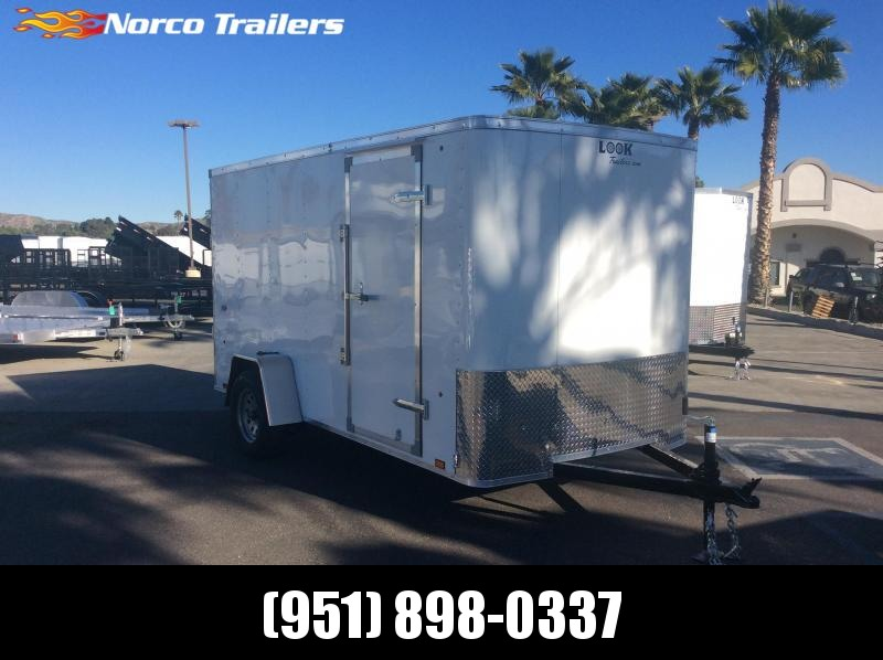 2019 Look Trailers STLC 6' x 12' Single Axle Enclosed Cargo Trailer