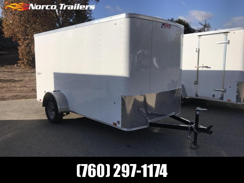 2019 Pace American Outback 6' x 12' Enclosed Cargo Trailer