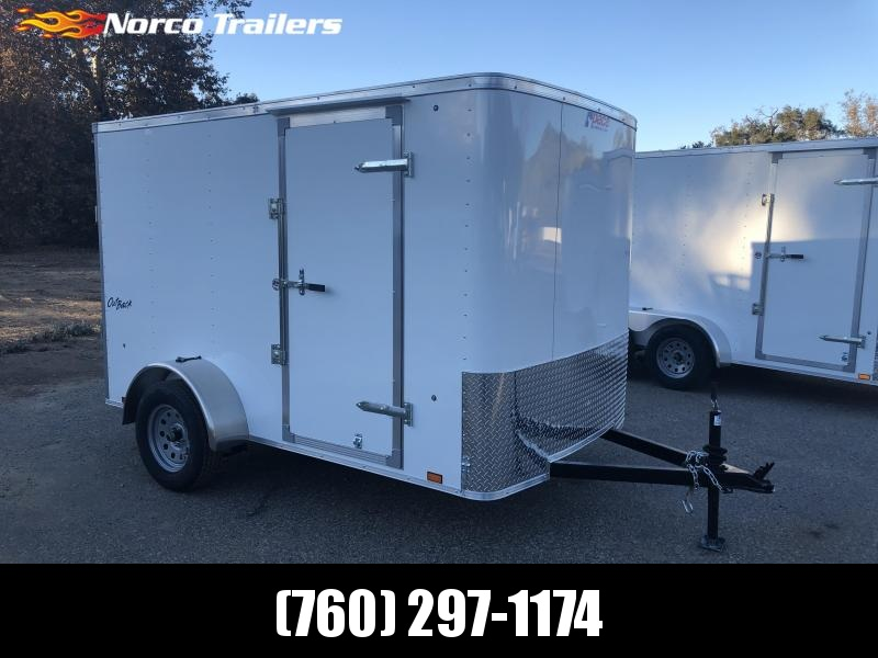 2019 Pace American Outback 6' x 10' Cargo / Enclosed Trailer