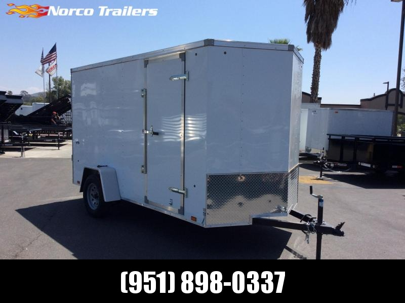 2019 Look Trailers STLC 6' x 12' Single Axle Utility Trailer