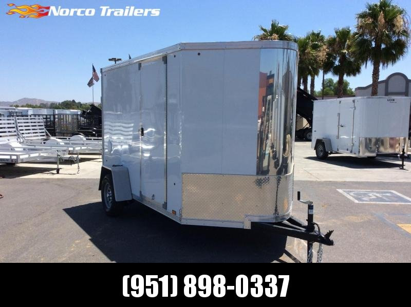 2020 Look Trailers Vision 6 x 10 Single Axle Enclosed Cargo Trailer