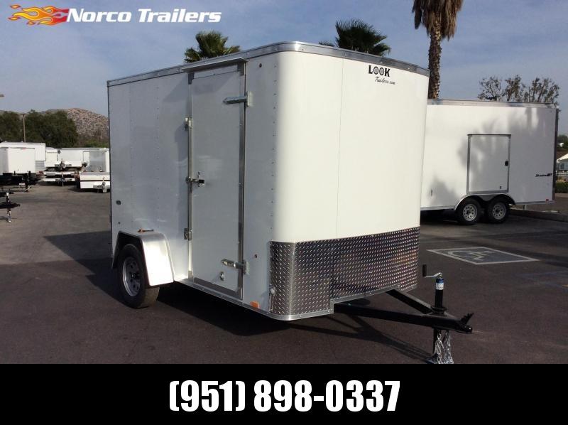 2018 Look Trailers STLC 6 x 10' Enclosed Cargo Trailer in CA