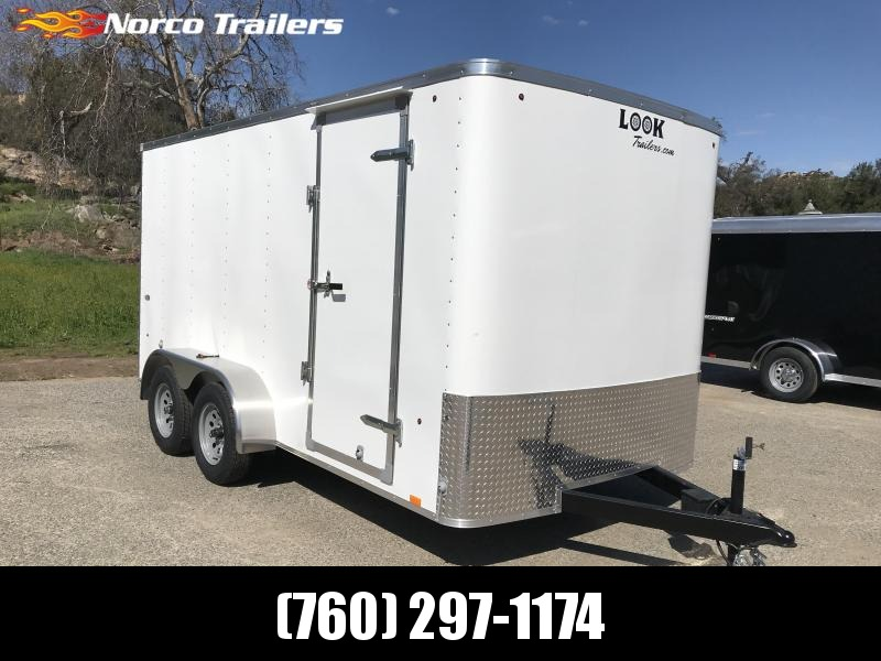 2019 Look Trailers STLC 7' x 14' Cargo / Enclosed Trailer
