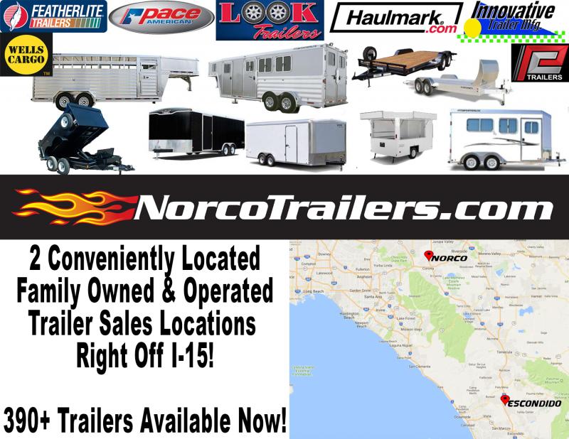 2018 Look Trailers STLC 5 x 10 Single Axle Enclosed Cargo Trailer