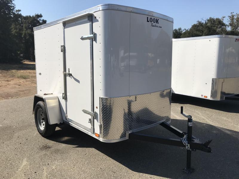 2019 Look Trailers STLC 5' x 8' Cargo / Enclosed Trailer