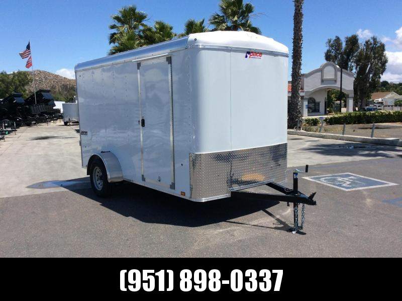 2019 Pace American Journey 6 x 12 Single Axle Enclosed Cargo Trailer