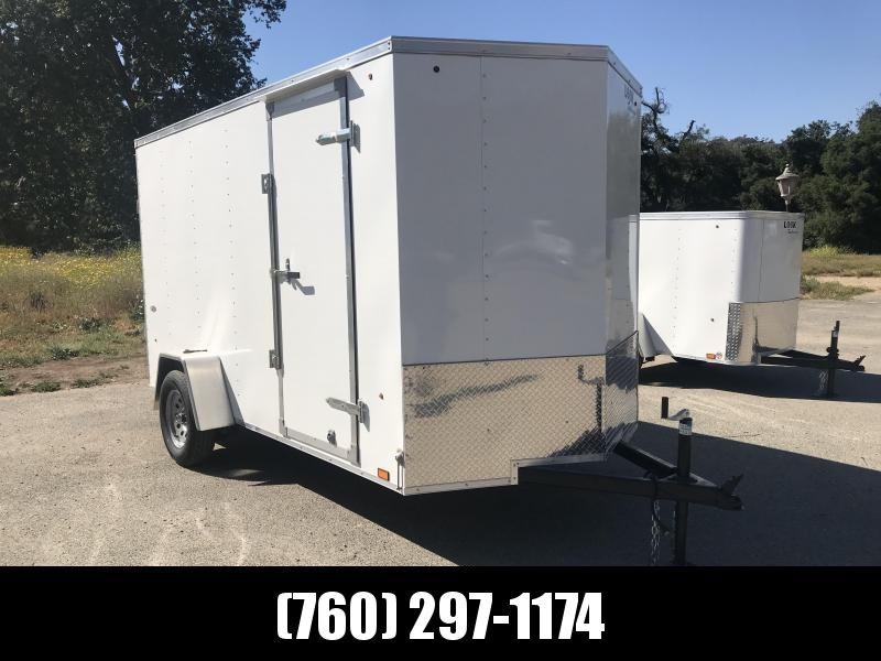 2019 Look Trailers STLC Vnose 6' x 12' Enclosed Cargo Trailer