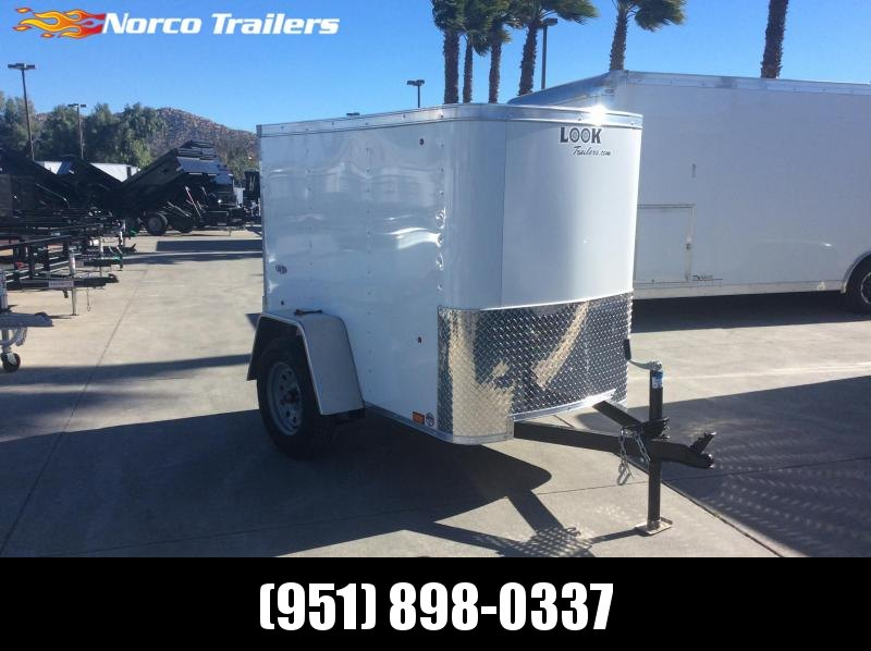 2019 Look Trailers STLC 4 X 6 Single axle Enclosed Cargo Trailer