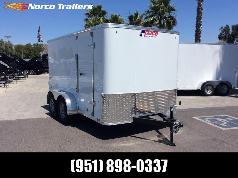 2019 Pace American Outback 7 x 12 Tandem Axle Enclosed Cargo Trailer