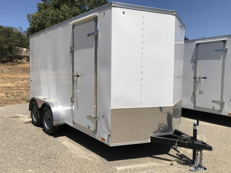 2019 Look Trailers STLC Vnose 7' x 14' Enclosed Cargo Trailer