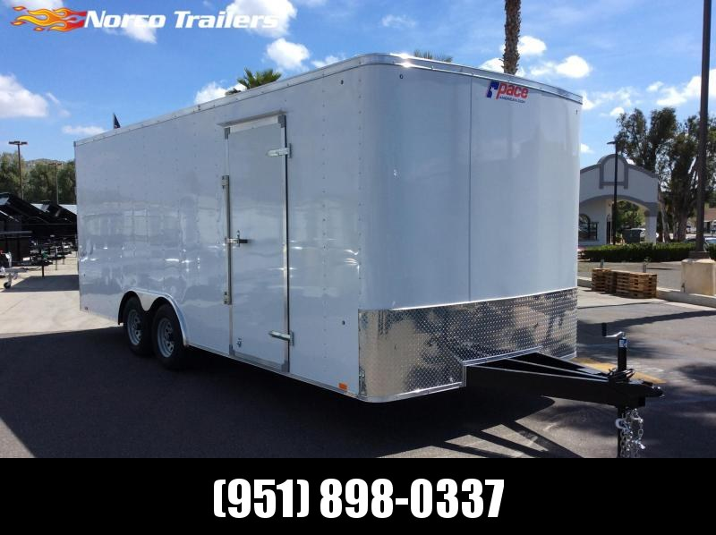 2019 Pace American OUTBACK 8.5 x 20 Tandem Axle Car / Racing Trailer