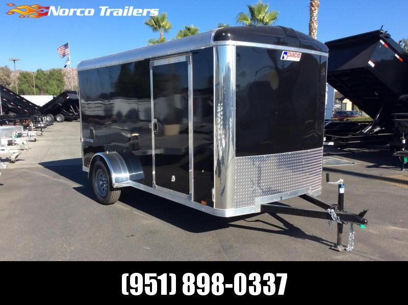 2019 Pace American Cargo Sport Round Top 6' x 12' Cargo / Enclosed Trailer