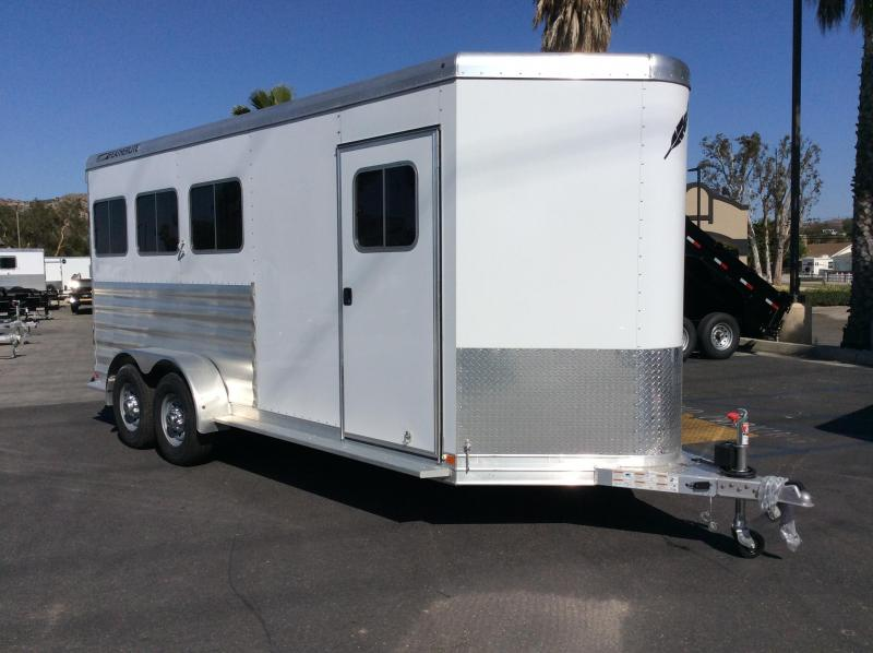 2018 Featherlite 9409 6.7 x 17.8 Horse Trailer