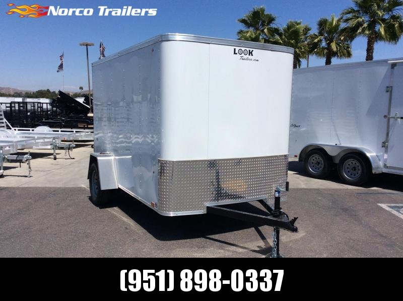 2019 Look Trailers STLC 6 x 10 Single Axle Enclosed Cargo Trailer