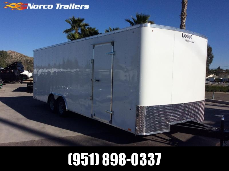 2019 Look Trailers ST 8.5' x 24' Tandem Axle Car / Racing Trailer