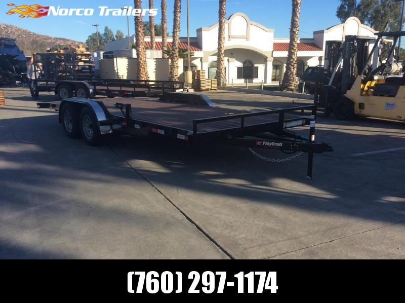 2019 Sun Country 82 x 18 Tandem Axle Flatbed Trailer