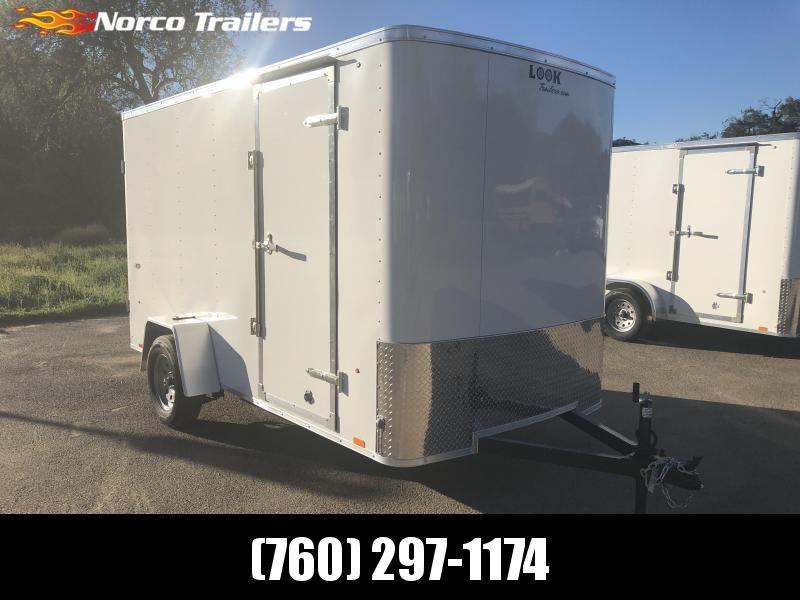 2018 Look Trailers STLC 6' x 12 Single Axle Cargo / Enclosed Trailer in CA