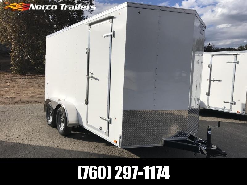 2019 Look Trailers Vnose STLC 7' x 14' Enclosed Cargo Trailer