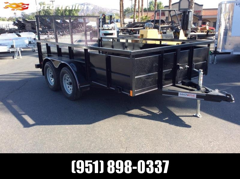 2019 Innovative Trailer Mfg. 77 X 12 Tandem Axle Utility Trailer