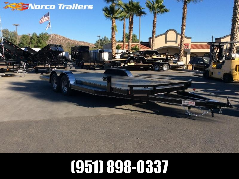 2019 Innovative Trailer Mfg. Steel Floor Car Hauler 83 x 20' Flatbed Trailer