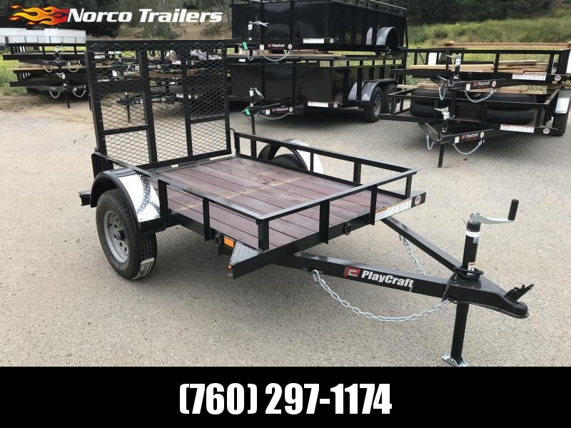 2019 Playcraft Big Mini 4' x 6' Light Duty Utility Trailer