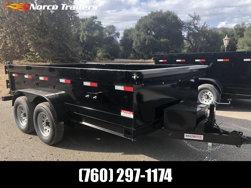 "2019 Innovative Trailer Mfg. 83"" x 12' 12K Dump Trailer"