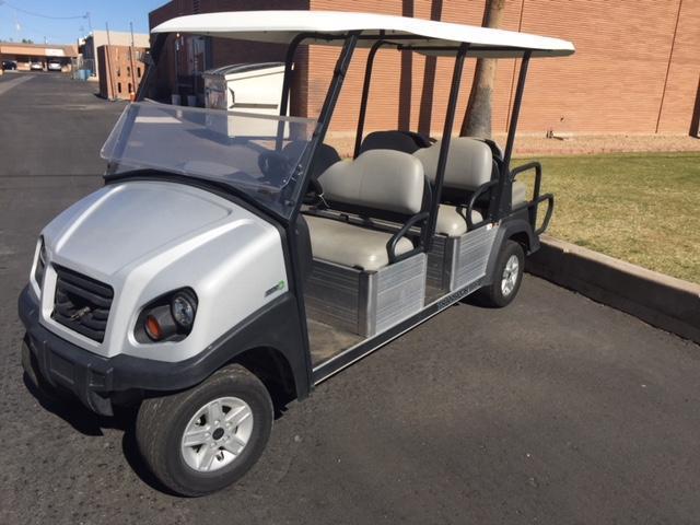 2016 Club Car Transporter 6 Passenger Flip Golf Cart Southwest