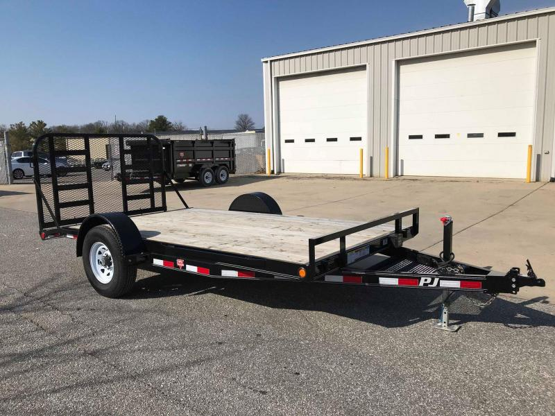 2018 PJ Trailers 14 Single Axle HD Carhauler (C1) Car / Racing Trailer