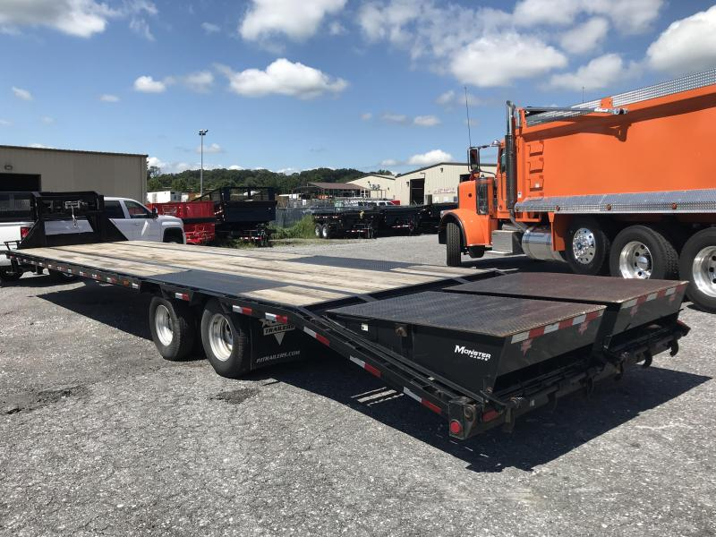 2015 PJ Trailers Low-Pro Flatdeck with Duals Equipment Trailer