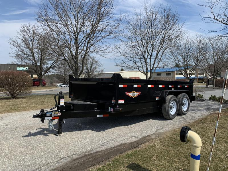 "2019 H and H Trailer 14' x 83"" DB Industrial Dump in Ashburn, VA"