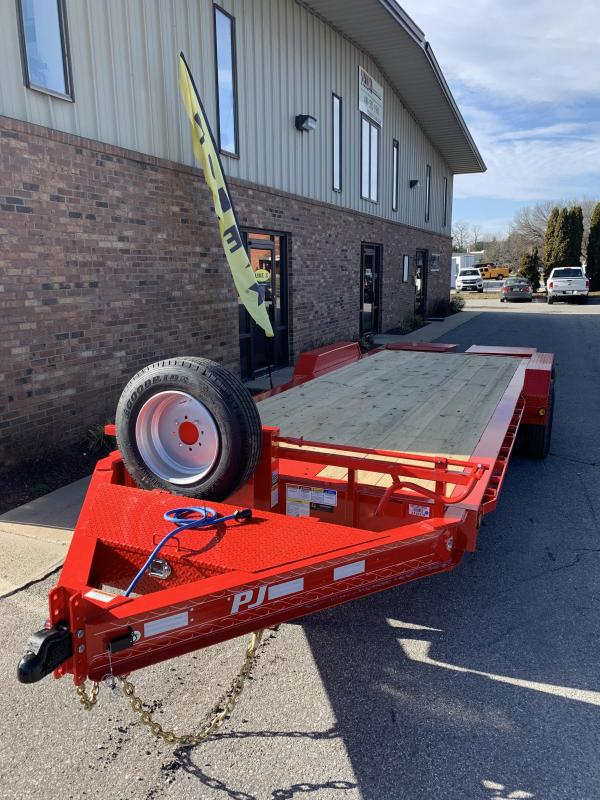 "2019 PJ Trailers 22' x 8"" Pro-Beam Equipment Trailer"