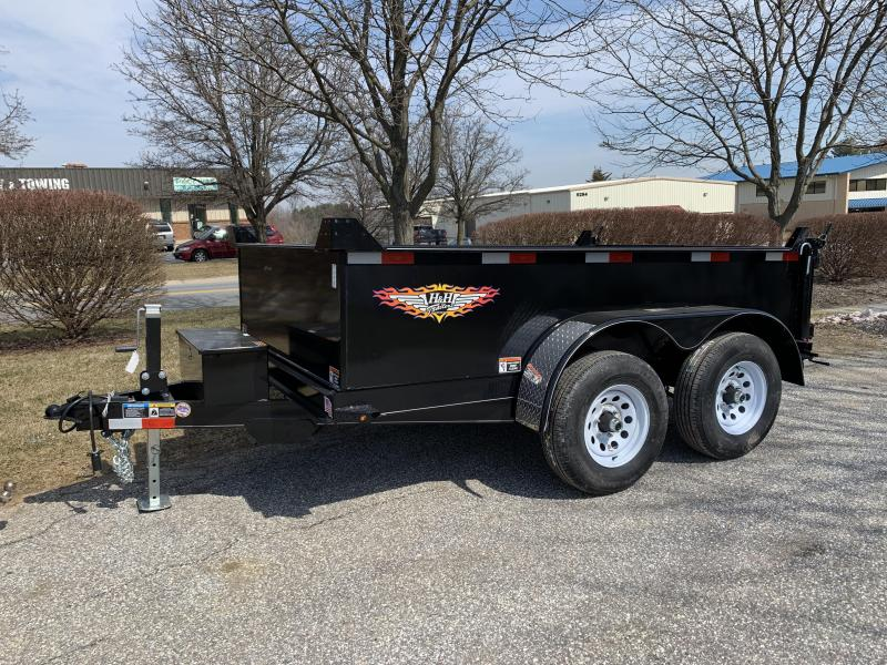 2019 H and H Trailer 12 x 72 Utility Dump Trailer