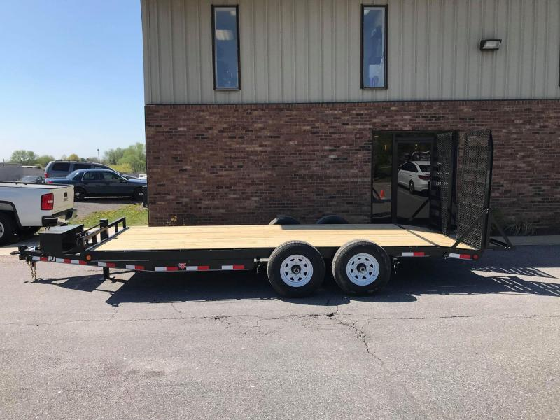 "2019 PJ Trailers 18' x 6"" Channel Equipment Trailer in Ashburn, VA"
