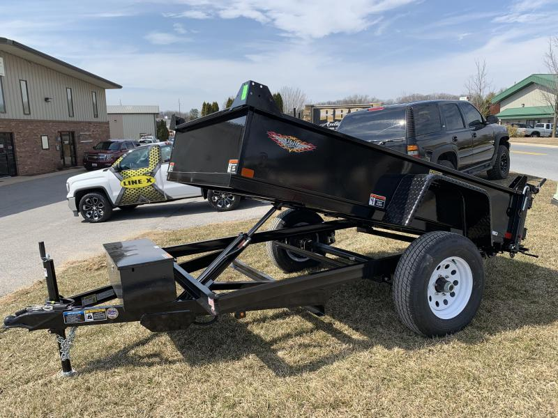 "2019 H and H Trailer 8' x 62"" Small Utility Dump"