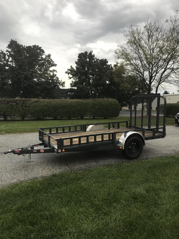 "2019 PJ Trailers 12' x 72"" Sngl Axle Channel Utility Trailer"