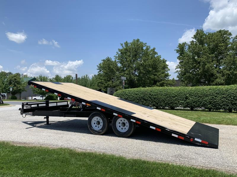 2019 PJ Trailers Deckover Tilt (T8) Equipment Trailer