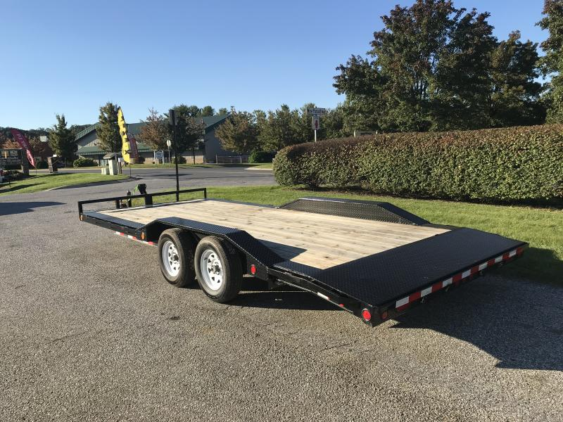 "2019 PJ Trailers 20' x 5"" Channel Buggy Hauler Trailer"