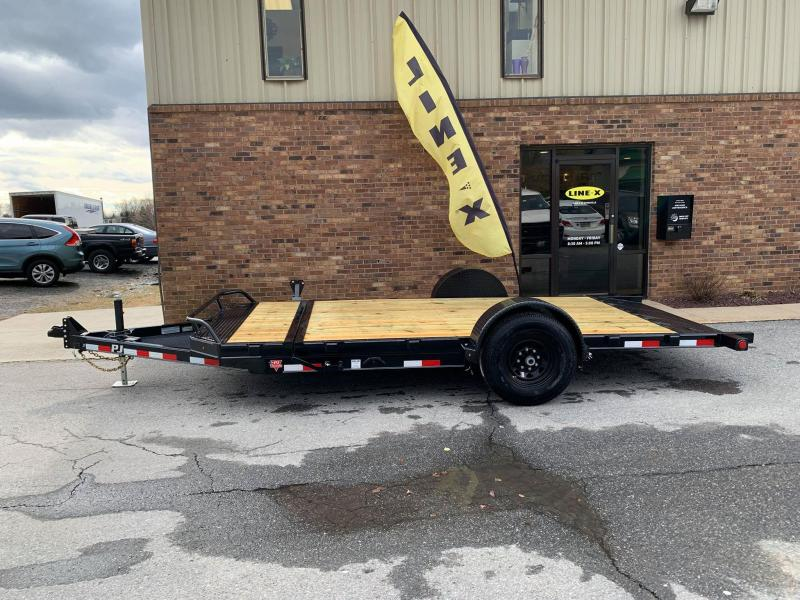 2019 PJ Trailers Single Axle HD Tilt (T1) Equipment Trailer