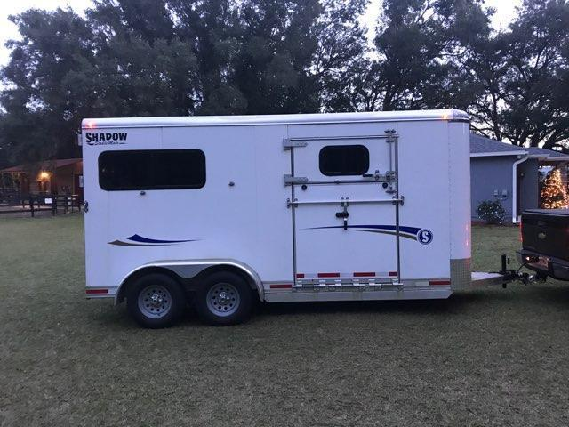 2017 Shadow Trailers 64150S-2STR-BP Horse Trailer