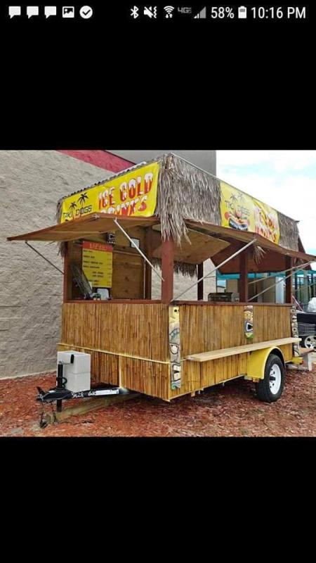 2016 Other HOT DOG CART Vending / Concession Trailer