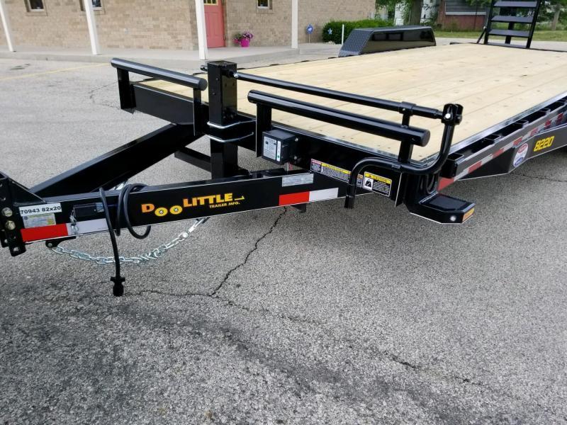 2018 Doolittle Trailer Mfg XT822014K Equipment Trailer