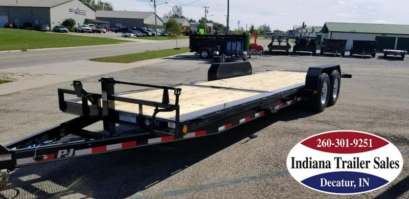 2019 PJ Trailers TJ242 - 82x24 Equipment Trailer Tilt
