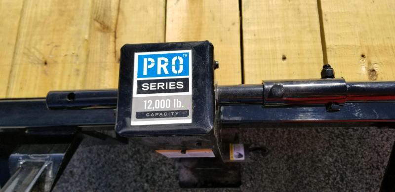 2019 PJ Trailers TJ242 - 82x24 Equipment Trailer Tilt