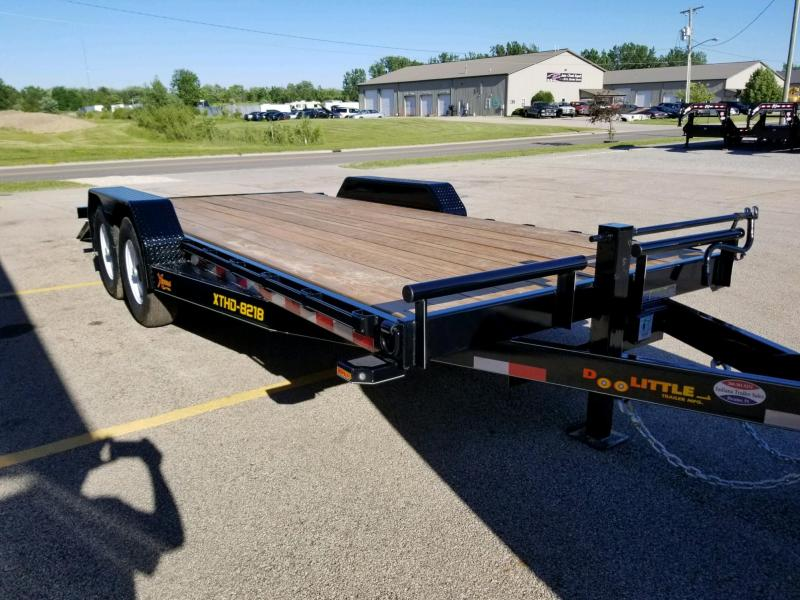 2018 Doolittle Trailer Mfg XT82x1814K Equipment Trailer