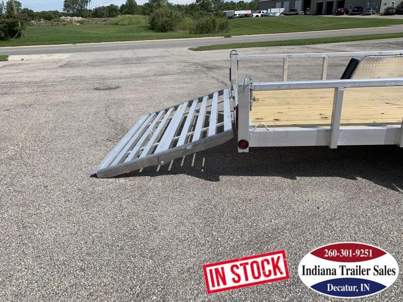 2020 Quality Steel and Aluminum 6x14 7414ALDX3.5KSA Utility Trailer