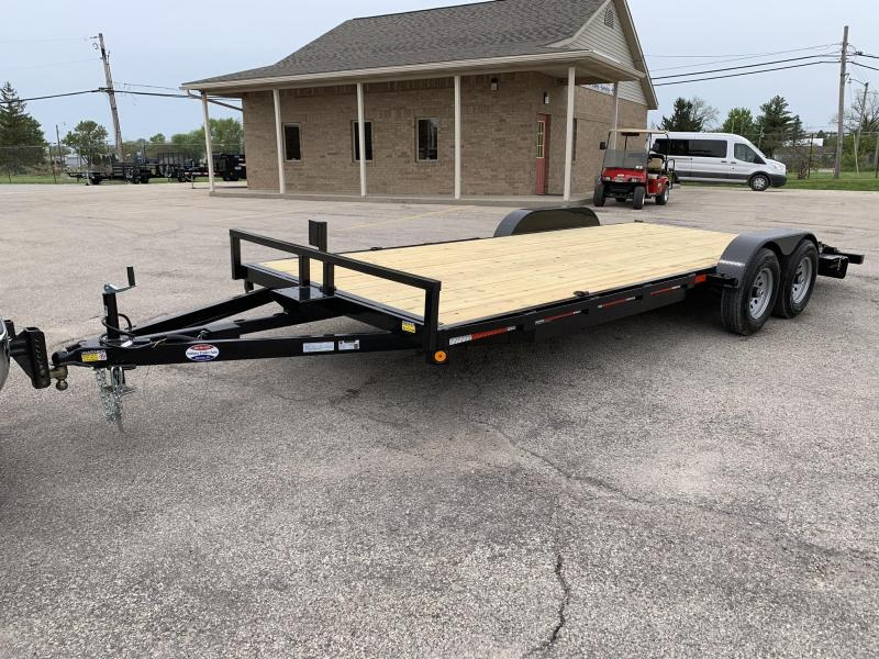 2020 Quality Steel and Aluminum 8320CH10K Car / Racing Trailer